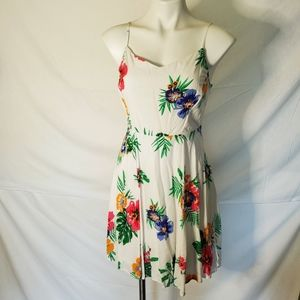 Old navy floral sleeveless mini dress